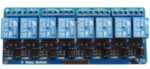Relay Board with 8 channels