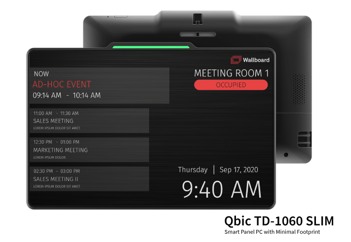 Qbic TD 1060 Slim Meeting Room Sign