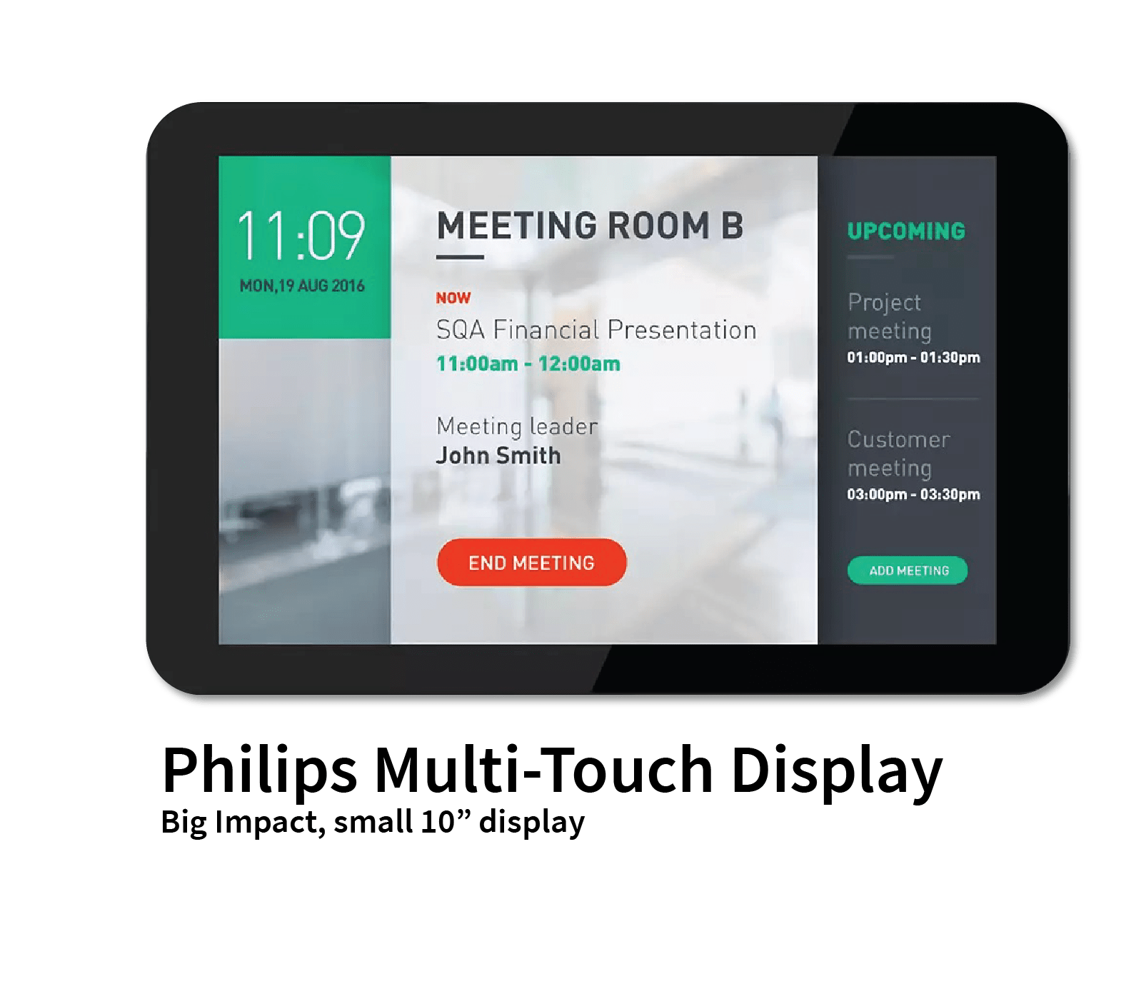 Philips Multi Touch Display