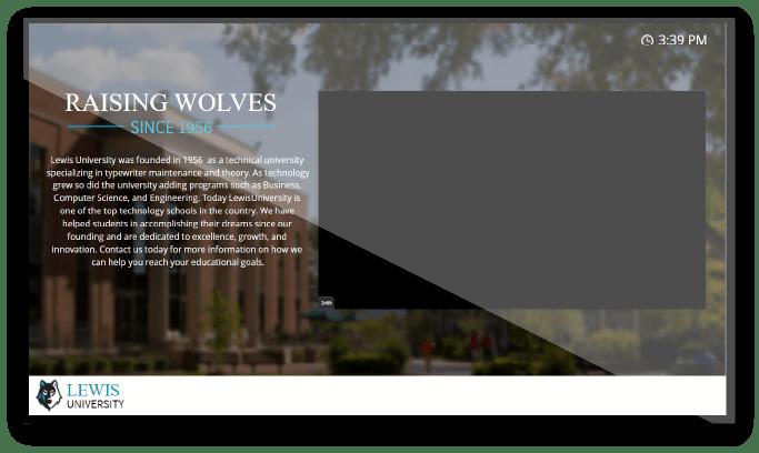 Lewis-University-Digital-Signage-Screen-1