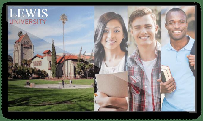 Lewis-University-Digital-Signage-Screen-2