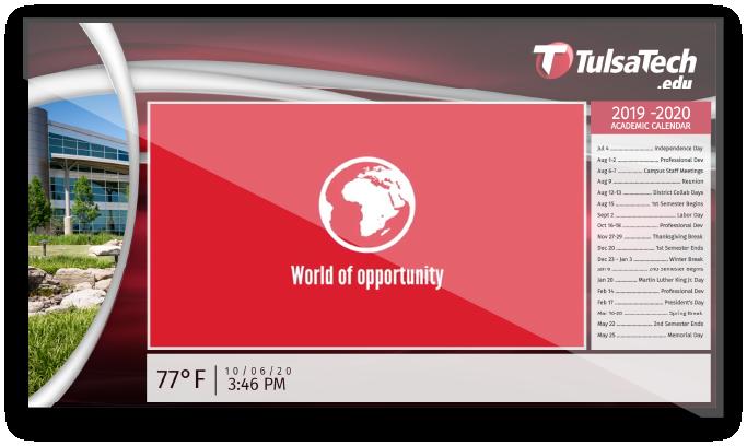 Tulsa-Tech-Digital-Signage-Screen