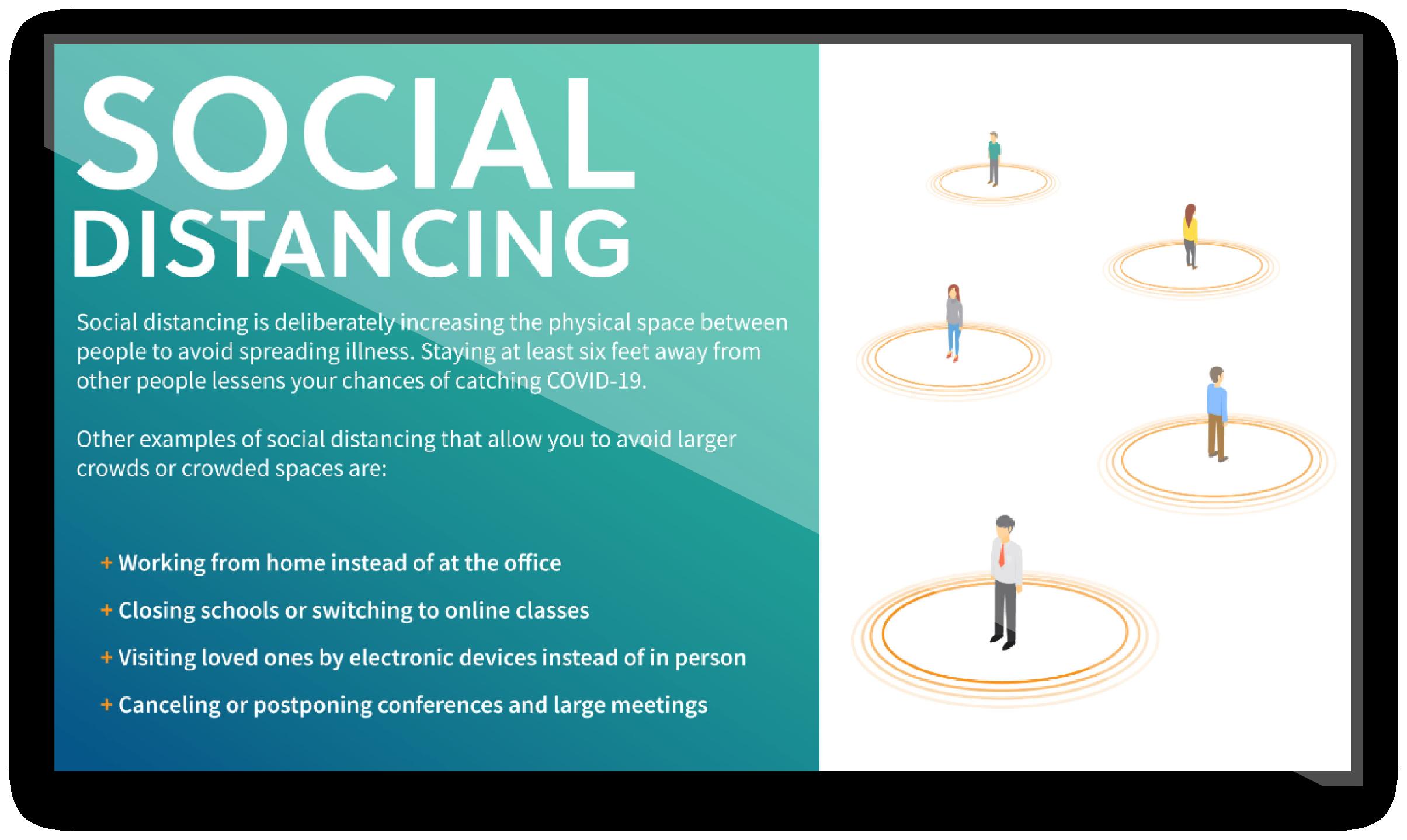 Social Distance Content