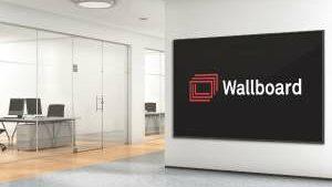 Wallboard-Digital-Signage