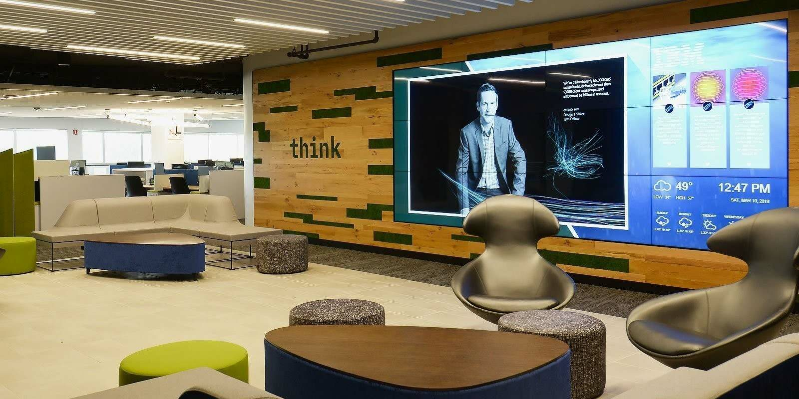 red dot - Think Video Wall